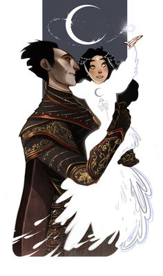 Guardians of the Childhood BOOK SPOILER…Alert? Don't worry,not a Rise of the Guardians movie spoiler alert. Pitch and his daughter. Because their backstory is sad like crazy ;____;