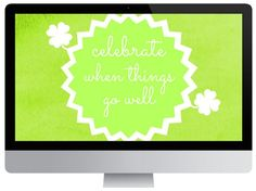 Want to remember to celebrate when things go well? Get this free inspiring background and remind yourself! Dress Your Tech, Free Desktop Wallpaper, Typing Games, Happy Memorial Day, Online Games, Helpful Hints, Have Fun, Wellness, Memories