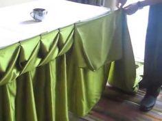 """ผ้าปูโต๊ะกลม ผ้าปูโต๊ะอาหาร """"ร้านสินผ้าคลุม"""" โทร.086-3214082 - YouTube"""