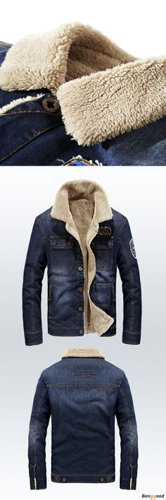 Well Designed Denim Jackets. Warm as it appears to be. 50% OFF.