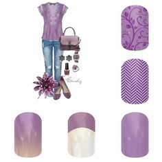 Lovely in lavender jamberry nail designs Jamberry Nail Wraps - Buy 3 get 1 free!! shop online with me www.sarahc.jamberrynails.net