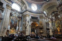 The Peterskirche.
