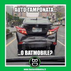 Quando davanti a te c'è #batman #bastardidentro #auto www.bastardidentro.it