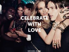 #CelebrateWith Michael Kors this holiday season.