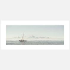 Sailing on Sitka Bay Photo Print  by Chris Crisman