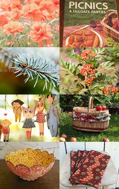 Inviting you on a picnic  by Marie ArtCollection on Etsy--Pinned with TreasuryPin.com