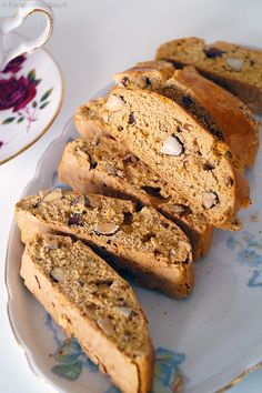 Glutenvrije cantuccini zonder geraffineerde suiker Healthy Sweets, Healthy Snacks, Healthy Recipes, Sugar Free Snacks, Lunch Snacks, Vegan Foods, What To Cook, Cake Cookies, Italian Recipes