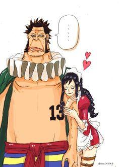One Piece, Sai, Baby 5.