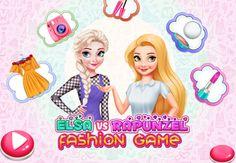 Elsa Vs Rapunzel Fashion Game: Elsa e Rapunzel estão competindo para concurso de diva da moda. Ambas estão convencidas de quando se trata de moda, são especialistas. E quando se trata de maquiagem, elas têm as melhores habilidades. Neste jogo, você precisa ajudar as princesas a se preparar para a competição.