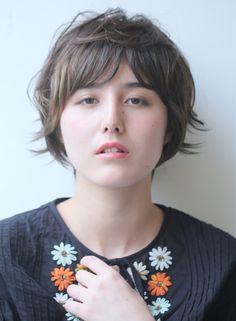 ショート グレージュ インナーカラー 【ARC+】 http://beautynavi.woman.excite.co.jp/salon/8341?pint ≪ #shorthair #shortstyle #shorthairstyle #hairstyle・ショート・ヘアスタイル・髪形・髪型≫