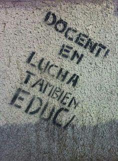 Docente en lucha también educa. #HuelgaCR
