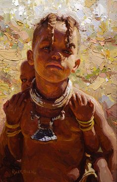 Himba Piggyback, Namibia       Stephanie Brown (New Zealand-born Australian)
