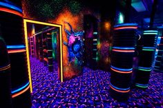 Laser tag, never done it. Wanna do it.
