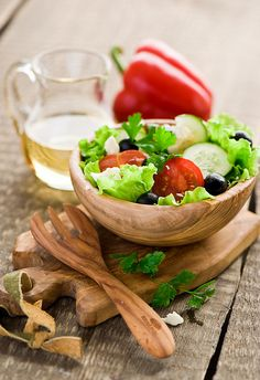 One of my all-time favorite foods! Greek Salad.