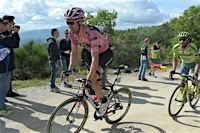 Stage 8:: Tom Dumoulin dropping out of the top 10 Giro d'Italia 2016 Photos