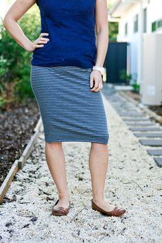 make it perfect: .30-Minute Skirt - a FREE pattern!.