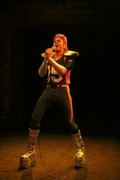 """Jimmy Fallon adds a new character to his musical repertoire and appears as """"Tebowie,"""" on Late Night With Jimmy Fallon on Thursday, January 12th, 2012."""