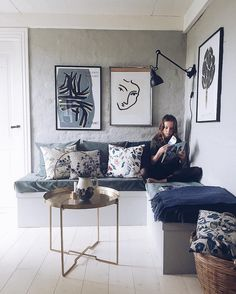 my scandinavian home: The warm and Inviting Danish home of Eline Engen with beautiful textiles