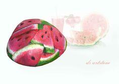 watermelon from artist Ds Artstone