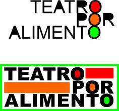 """""""Teatro por Alimento"""" una iniciativa solidaria con un logo potente   garcygrande: diseños y creaciones"""