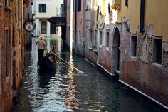 The Canals of Venice Italy     Check out more of our photography here; http://www.flickr.com/photos/jekaphotography/