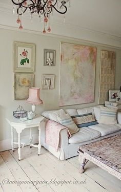 Tamsyn's shabby chic home