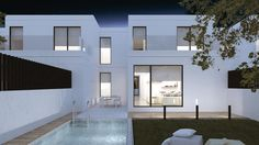 Casas prefabricadas de diseño adosadas
