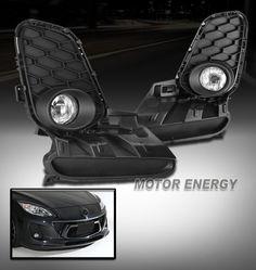 2012-2013 MAZDA 3 MAZDA3 BUMPER DRIVING FOG LIGHT CHROME W/BULB+COVER+SWITCH KIT in eBay Motors, Parts & Accessories, Car & Truck Parts | eBay