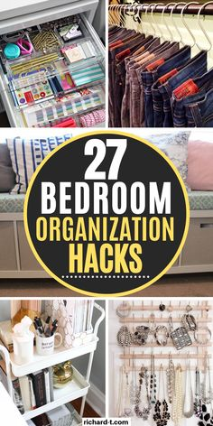 Filing Cabinet Organization, Home Organization Hacks, Bedroom Organization, Organisation Ideas, Declutter Your Home, Organizing Your Home, Genius Ideas, Small Bedroom Storage, Tips & Tricks