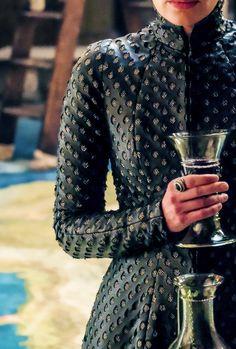 """Cersei Lannister costume details | GoT Season 7 """