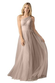 Latte Bridesmaid Dresses. Sophie&-39-s gorgeous bridesmaids wearing ...