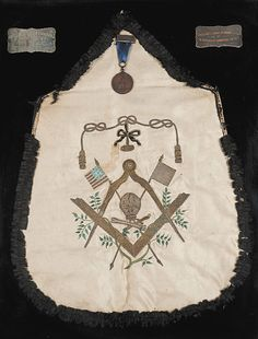 A very old Masonic Apron