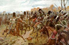 Knötel-Battle of Hanau - Grenadiers à cheval de la Garde impériale — Wikipédia