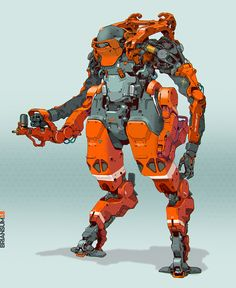 ArtStation - Heavy Welder, Brian Sum