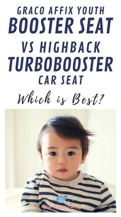 Graco Affix Youth Booster Seat vs Highback Turbobooster Car Seat - Which is Best There are two great car seats on the market right now - the Affix Youth Booster Seat and the Highback Turbobooster. Which is best? Read here! Baby Hacks, Mom Hacks, Newborn Baby Tips, Best Car Seats, Booster Car Seat, Learning Methods, Baby Swag, Red Velvet Cupcakes, Best Mom