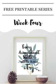 I'm a big fan of motivational quotes. Yes, sometimes they can be a little cheesy, but other times they really speak to the moment. So far I've done a fewthemed prints for the Free Printable Series, but this week I wanted to play around with a quote and florals. Free Printable Series Week Four: Quote …