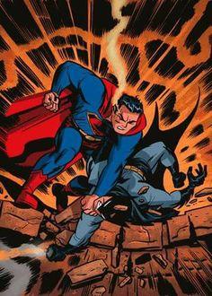 Superman vs Batman by Darwin Cook