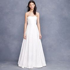 Laura lace gown J.Crew