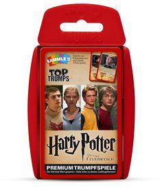 TOP TRUMPS HARRY POTTER UND DER FEUERKELCH  #TopTrumps #HarryPotter #Feuerkelch #Hogwarts #Harry #Dumbledor #Hermine #Ron