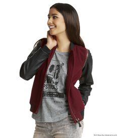 Pretty Little Liars Emily Wool Vest Jacket - Aeropostale