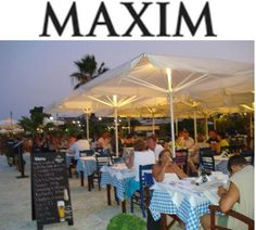 Maxim Restaurant Lixouri Harbour Trip Advisor, Restaurant, Patio, Island, Places, Outdoor Decor, Block Island, Yard, Diner Restaurant