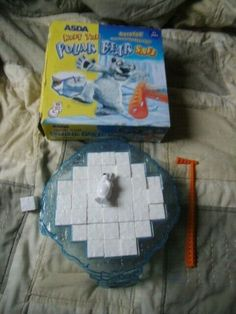 Keep The Polar Bear Safe Bear Games Complete With Rules Break The Ice Kids Panic Arctic Polar Bears, Ice Games, Bears Game, Childhood Friends, Asda, Card Games, Fun, Playing Card Games, Hilarious