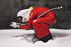 Ready to set the world record in downhill speed skiing: 211,5 km/h