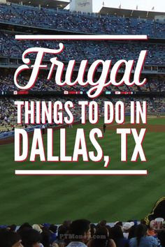If you are visiting Dallas and want some cheap and frugal things to do, then you are going to love this list. Even if you live here, this list of frugal and cheap things to do in Dallas is going to be a hit. Dallas Things To Do, Cheap Things To Do, Free Things, Stuff To Do, Texas Things, Kid Stuff, Visit Dallas, Dallas Texas, Austin Texas