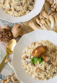 Mushroom Risotto from Breath of the Wild.