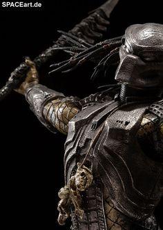 Alien vs. Predator: Scar Predator - Deluxe Statue, Fertig-Modell ... http://spaceart.de/produkte/avp006.php ... please repin!
