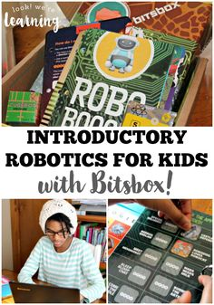See how we covered introductory robotics for kids with our Bitsbox subscription box! My middle schooler coded her own robot video game! Lessons For Kids, Science Lessons, Teaching Kids, Kids Learning, Learning Time, Middle School Technology, Computer Lab Lessons, Robotics Club, Subscriptions For Kids