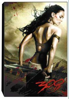 Queen Gorgo of Sparta (Lena Headey) in the movie 300.