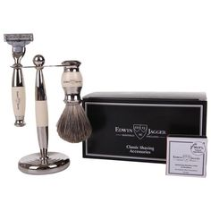 Edwin Jagger Men's Grooming Set