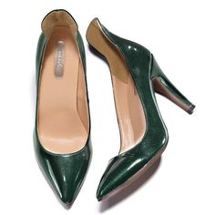 Sparkling faux patent leather (polyurethane). Regularly $42.00, buy Avon Fashion online at http://eseagren.avonrepresentative.com